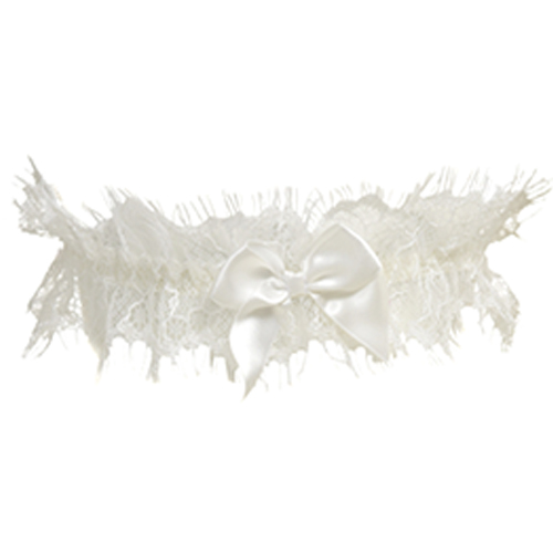 Garter with lace